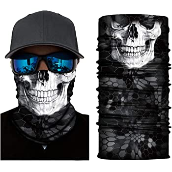 Bandana Face Mask,Motorcycle Face Masks for Men,Neck Gaiters for Women Cycling