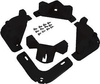 VersaChock Cooler/Cargo Tie Down-Black/White Removable Chocks