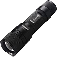 Good-Looking Sturdy Durable F3-L2 10W 1100 LM CREE XML2 IP67 Life Waterproof Strong LED Flashlight with Strong/Middle/Low/...