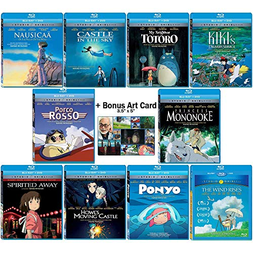 The Master Blu-ray Collection: Written & Directed by Hayao Miyazaki (Nausicaa of the Valley of the Wind / Castle in the Sky / My Neighbor Totoro / Kiki