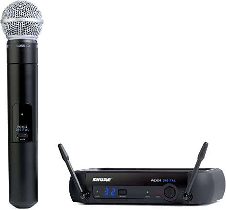 Shure PGXD24/SM58-X8 Handheld Wireless System