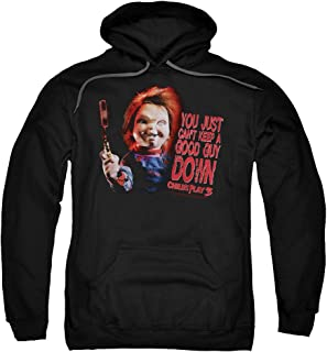 2Bhip Child's Play 3 Horror Comedy Thriller Movie Good Guy Adult Pull-Over Hoodie