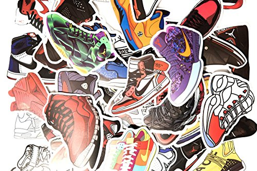 [100 Pack] Sneaker Stickers Hypebeast Limited Exclusive Retro Vinyl Decals