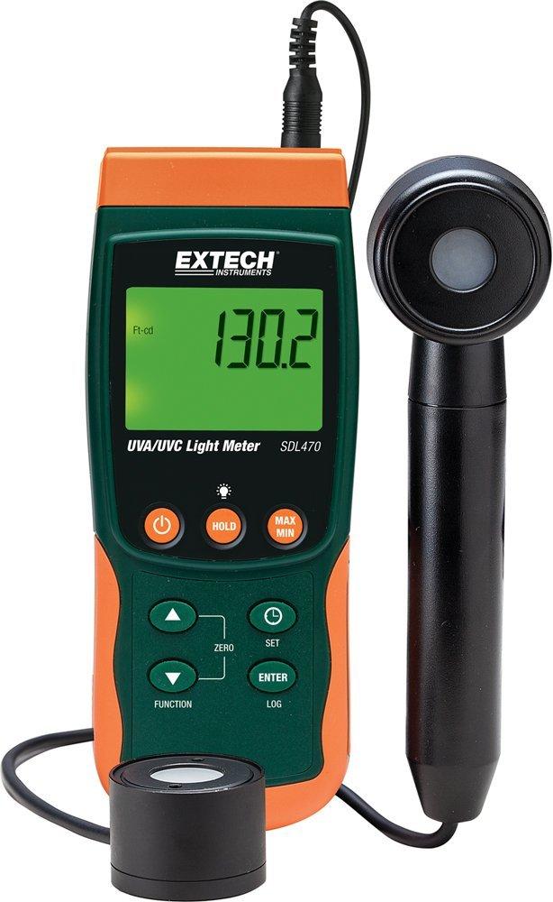 Extech SDL470 Short-/Long-wave UV Irradiance Light Meter