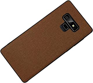 Galaxy Note 9 Case, NAERNAI Hybrid Heavy Duty Protection Cloth Shockproof Cover Compatible Samsung Galaxy Note 9