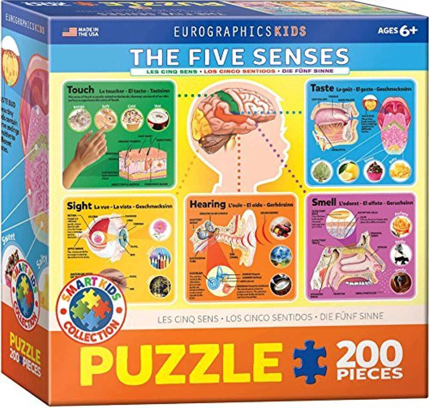 EuroGraphics Five Senses Jigsaw Puzzle (200Piece) by EuroGraphics
