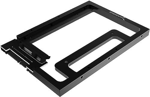 Sabrent 2.5 SSD & SATA Hard Drive to Desktop 3.5 SATA Bay Converter Mounting Kit (BK-PCBS)