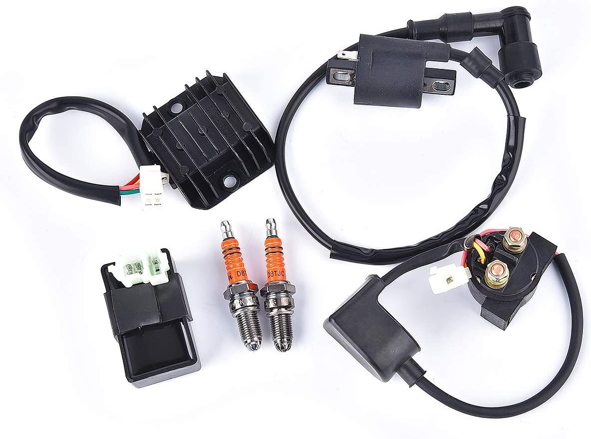 Ignition Coil AC Max 81% OFF CDI Voltage Regulator Rectifier Fashion Repla Kit Relay