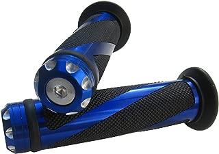 MotorToGo Blue CNC Aluminum Motorcycle 7/8