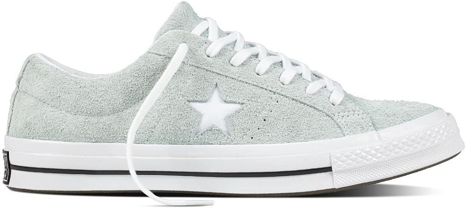 Converse Lifestyle One Star Ox Suede, Unisex Adults'  Fitness shoes, Multicolour (Dried Bamboo White Black 416),  UK (46 EU)