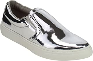 5c5d21ee095 Amazon.com  Silver Women s Loafers   Slip-Ons
