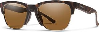 نظارات شمسية مربعة بنية مستقطبة من هايوير 0N9P/L5 55 مم بلون هافانا/كرومابوب للرجال والنساء + مجموعة نظارات مجانية