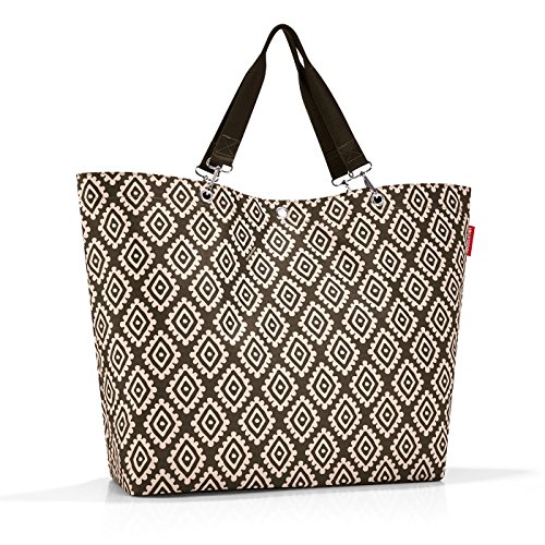 reisenthel shopper XL 68 x 45,5 x 20 cm / 35 l / diamonds mocha
