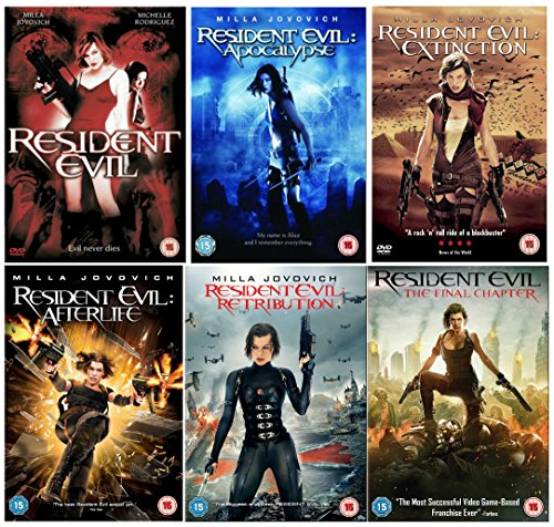 Resident Evil 1-6 Complete Collection