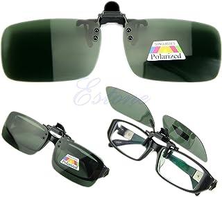 3bc516e706 Lamdoo Gafas de conducción polarizadas día Noche visión Clip-on Flip-up Lente  Gafas