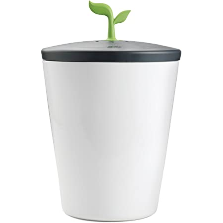 Chef'n 401-420-120 EcoCrock Counter Compost Bin Black/White 3.3 liter 1