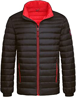 Men's Ultra Lightweight Packable Puffer Down Jacket