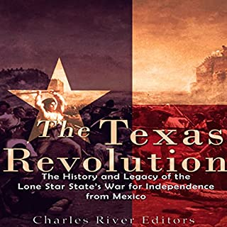 The Texas Revolution audiobook cover art