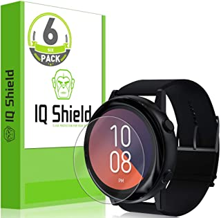 IQ Shield Screen Protector Compatible with Samsung Galaxy Watch Active (Galaxy Watch Active2 40mm) (6-Pack) Anti-Bubble Cl...