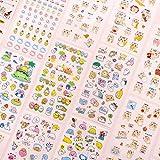 BLOUR 6 unids/Set Lindas Pegatinas de Gato de Dibujos Animados Kawaii Diario decoración de álbum de Recortes papelería Oficina Escuela Adhesivo Diario álbum Coreano