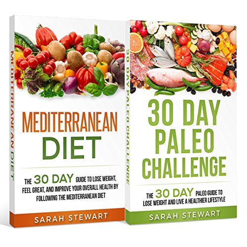 30 Day Challenge     30 Day Mediterranean Diet, 30 Day Paleo Challenge              By:                                                                                                                                 Sarah Stewart                               Narrated by:                                                                                                                                 Kathy Vogel                      Length: 3 hrs and 24 mins     Not rated yet     Overall 0.0