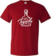 CreateMyTee | Tequila Made Me Do It | Tequila Funny Drinking Party Men's/Women's Short Sleeve T-Shirt