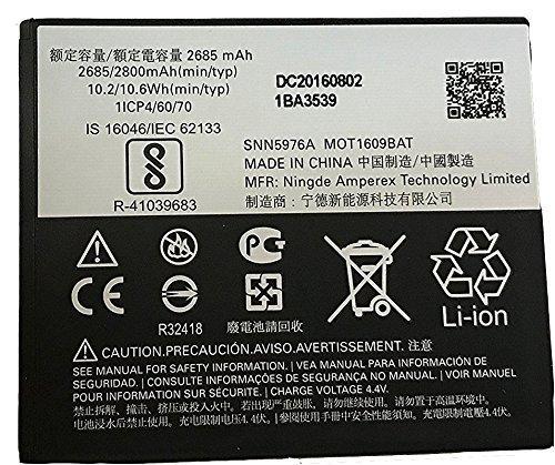 Motorola GK40 - Batteria di ricambio per Moto E3, Moto E4, Moto G4 Play XT1607, Moto G5 XT1601, XT1603, XT1675