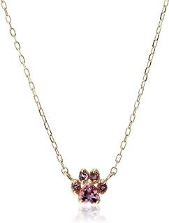 [Sweets Jewelry Market] Sweets Jewelry Market(甜品 珠宝市场) (SWEGB) K10黄金 粉色电气石肉球项链两吊坠类型 SJ00367
