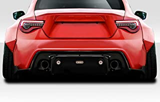 Extreme Dimensions Duraflex Replacement for 2013-2020 Scion FR-S Toyota 86 Subaru BRZ GT500 V3 Rear Diffuser - 1 Piece