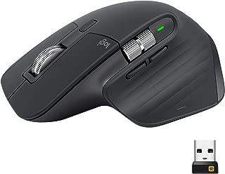 ロジクール アドバンスド ワイヤレスマウス MX Master 3 MX2200sGR Unifying Bluetooth 高速スクロールホイール 充電式 FLOW 7ボタン windows Mac 無線 マウス MX2200 グラファイト 国内正規品 2年間無償保証