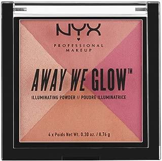 Best nyx professional makeup away we glow illuminating powder Reviews