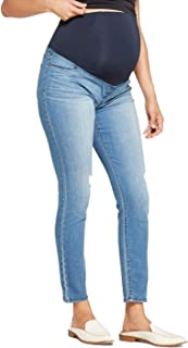 Maternity Women's Crossover Panel Jeggings - Medium Wash - 00