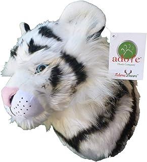 """Adore 10"""" Fantasia The White Tiger Stuffed Animal Plush Walltoy Wall Mount"""