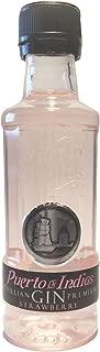 Miniatura Puerto de Indias de fresa 5cl (Pack 24 ud).