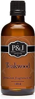 Teakwood Fragrance Oil - Premium Grade Scented Oil - 100ml
