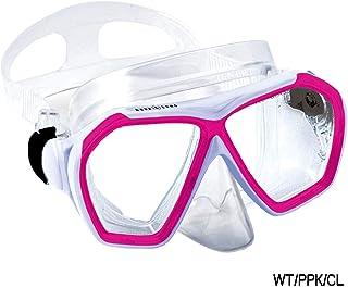 アクアラング(AQUALUNG) ニーナマスク WT/PPK/CL 広い視界で安心 男女兼用 225044
