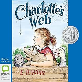 Charlotte's Web                   By:                                                                                                                                 E. B. White                               Narrated by:                                                                                                                                 E. B. White                      Length: 3 hrs and 35 mins     20 ratings     Overall 4.7