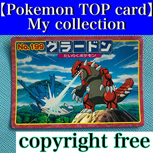 【Pokemon TOP card】My collection Japanese collector Photo Book Vintage copyright free (English Edition)