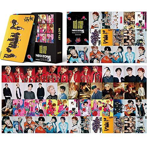 NCT127 Lomo Karten 54Stk NCT127 NEO Zone Neue Album Cards Kpop NCT Postkarten Fotokarten NCT # 127 Karte