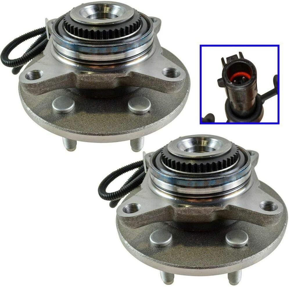 Set of 2 Front Wheel Hub 515079 Assembly and Trust For Many popular brands Bearing