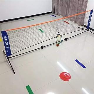 * 0,79 Mio. DXY Professionelles Standard-Badmintonnetz Indoor-Outdoor-Sport Volleyballtraining Schnellstart Tennis Badminton Square Net 5,9 Mio