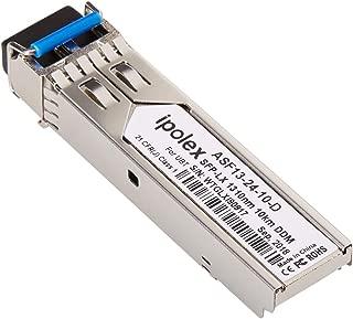 Gigabit SFP Transceiver Single-Mode 1000Base-LX for Ubiquiti UF-SM-1G, 1.25Gb/s SFP LX Module (SMF, 1310nm, 10km, LC, DDM)