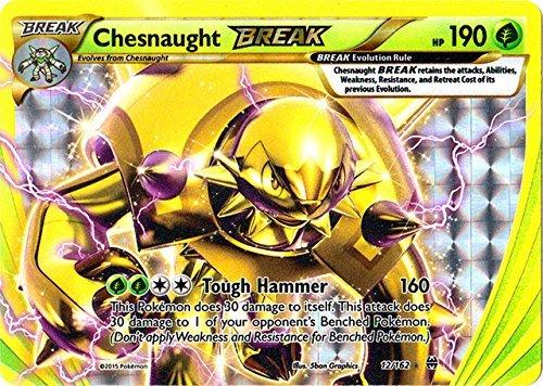 Pokemon - Chesnaught-Break (12/162) - XY Breakthrough