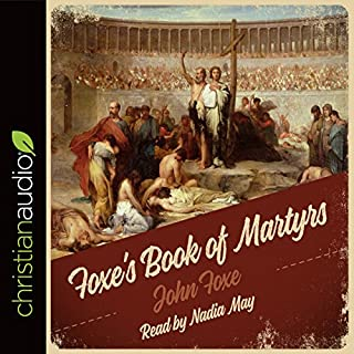 Foxe's Book of Martyrs  cover art