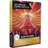 DAKOTABOX - Caja Regalo - UN AÑO DE ESPECTÁCULO  - 1 año de conciertos, cine, teatro, humor y espectáculos infantiles ilimitados