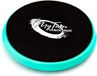 Patent Pending My Turn Disc, Portable Turning Board for Dancers, Ballet, Gymnastics, Equipment, Dance Accessory for Balance Training, Technique, pirouettes Spinning on Releve