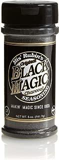 Charcoal Seasoning Dry BBQ Rub (5 oz.) Black Magic Charcoal Grill Seasoning Best for Briskets, BBQ Burger, Ribeyes, Pulled Pork, Beef Steaks, Pot Roast, and Grilled Fish