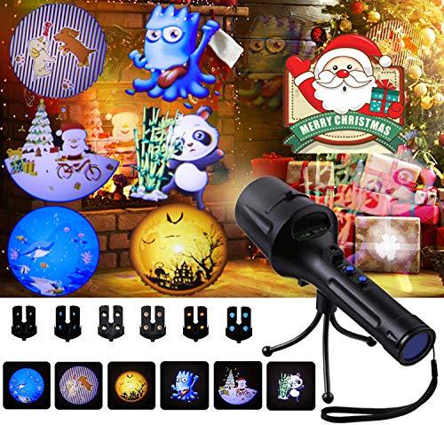 SGODDE Luces de Proyector de Navidad