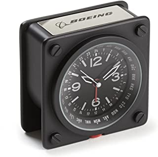 Boeing Pilot World Time Alarm Clock