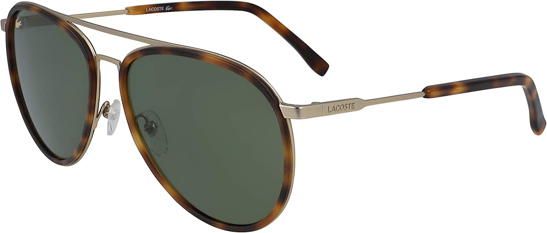 Sunglasses LACOSTE L 215 Sale price S Havana Matte Gold Special sale item